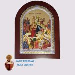 Olive-Wood-Saint-Nicholas-Holy-Crafts-Olive-Wood-The-Birth-Frame-Nikolaus-Silver-Icon