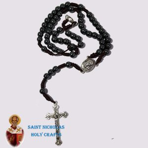 Olive-Wood-Saint-Nicholas-Holy-Crafts-Olive-Wood-Thread-Hematite-Rosary
