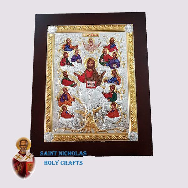 Olive-Wood-Saint-Nicholas-Holy-Crafts-Olive-Wood-Tree-Of-Life-Nikolaus-Silver-Big-Icon