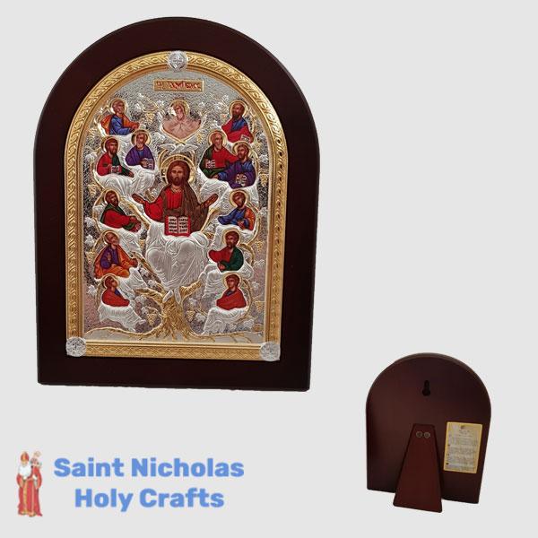 Olive-Wood-Saint-Nicholas-Holy-Crafts-Olive-Wood-Tree-Of-Life-Nikolaus-Silver-Icon