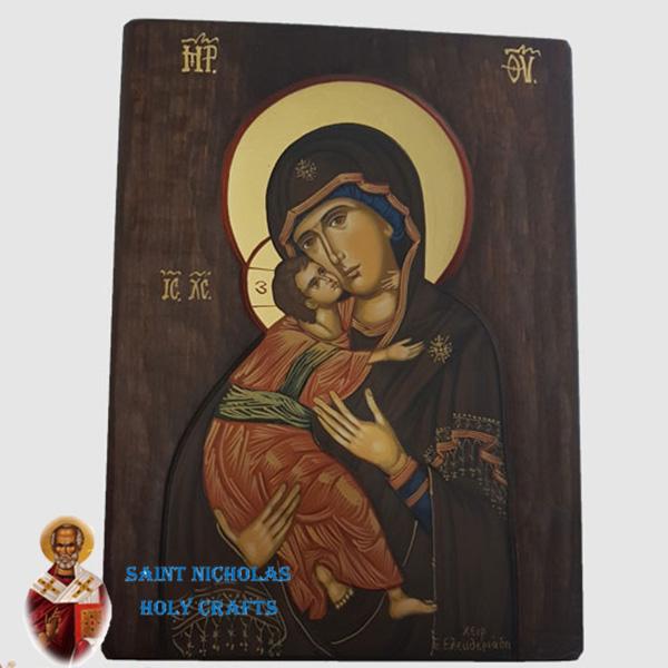 Olive-Wood-Saint-Nicholas-Holy-Crafts-Olive-Wood-Vladimir-Hand-Painted-Icon