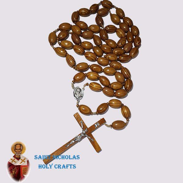 Olive-Wood-Saint-Nicholas-Holy-Crafts-Olive-Wood-Wall-Hanging-Wood-Rosary