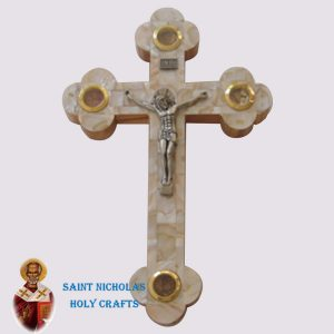 Olive-Wood-Saint-Nicholas-Holy-Crafts-Olive-Wood-White-Mother-Of-Pearl-Cross