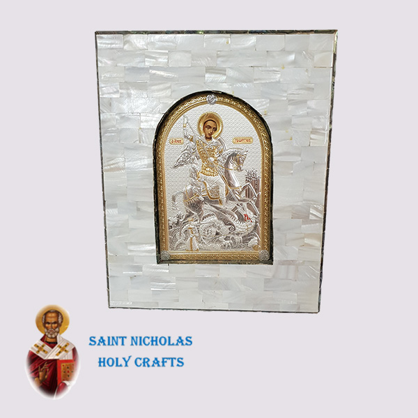 Olive-Wood-Saint-Nicholas-Holy-Crafts-Olive-Wood-White-Mother-Of-Pearl-Silver-Icon