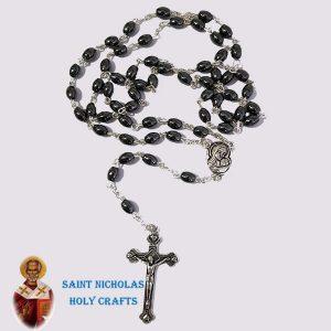 Olive-Wood-Saint-Nicholas-Holy-Crafts-Olive-Wood-Wire-Hematite-Rosary