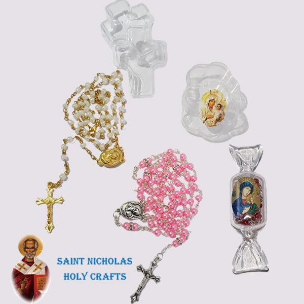 Rosary In Cross Box