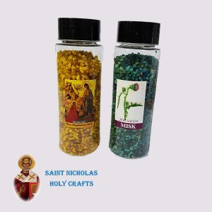 olive-wood-saint-Nicholas-holy-crafts-olive-wood-Incense-With-Perfume-in-Bottle