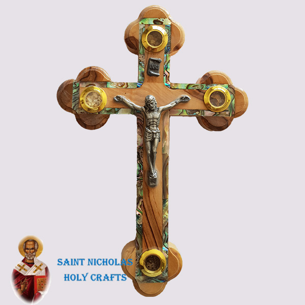olive-wood-saint-nicholas-holy-crafts-olive-wood-Frame-Mother-Of-Pearl-Cross