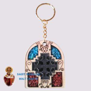 olive-wood-saint-nicholas-holy-crafts-olive-wood-laser-Key-Chain-122