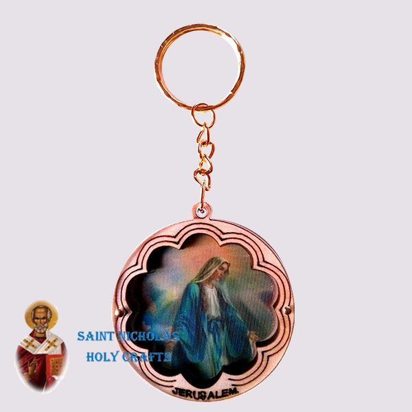 olive-wood-saint-nicholas-holy-crafts-olive-wood-laser-Key-Chain-125