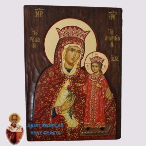 Olive-Wood-Saint-Nicholas-Holy-Crafts-Olive-Wood-Amarado-Hand-Painted-Icon