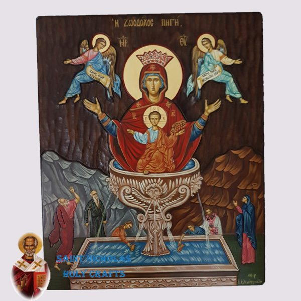 Olive-Wood-Saint-Nicholas-Holy-Crafts-Olive-Wood-Fountain-Of-Life-Hand-Painted-Icon