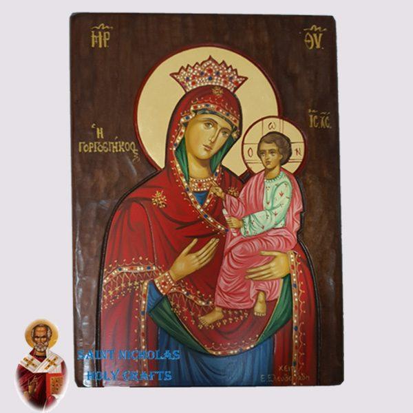 Olive-Wood-Saint-Nicholas-Holy-Crafts-Olive-Wood-Gorgeobikoos-Hand-Painted-Icon