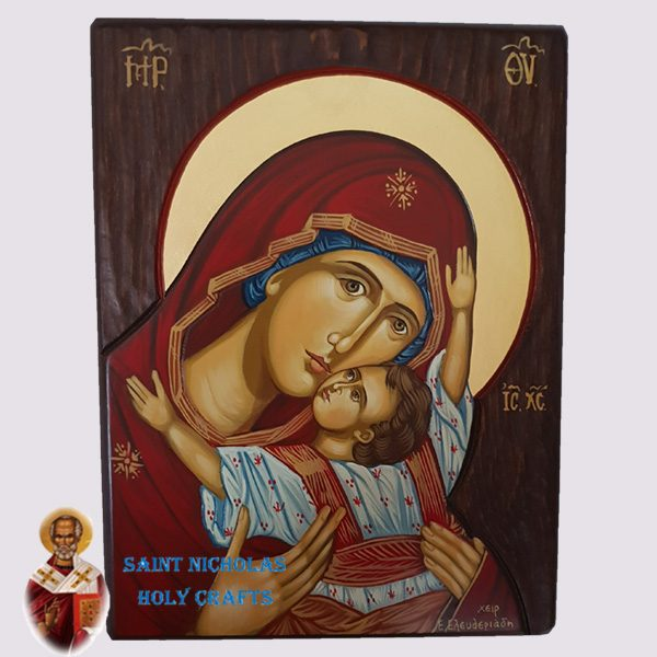 Olive-Wood-Saint-Nicholas-Holy-Crafts-Olive-Wood-Kardiotissa-Hand-Painted-Icon