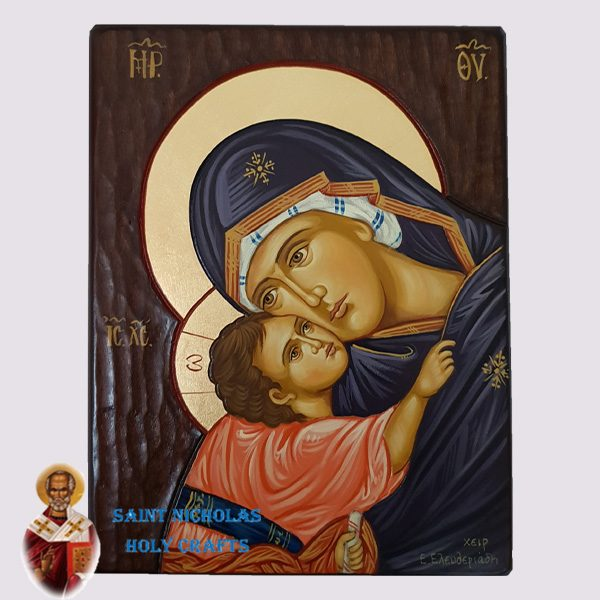 Olive-Wood-Saint-Nicholas-Holy-Crafts-Olive-Wood-Mov-Detail-Hand-Painted-Icon