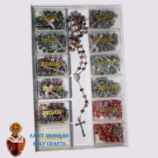 Olive-Wood-Saint-Nicholas-Holy-Crafts-Coloured-Rosary