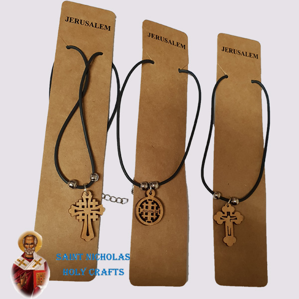 Olive-Wood-Saint-Nicholas-Holy-Crafts-Hanger-With-Wooden-Pendent