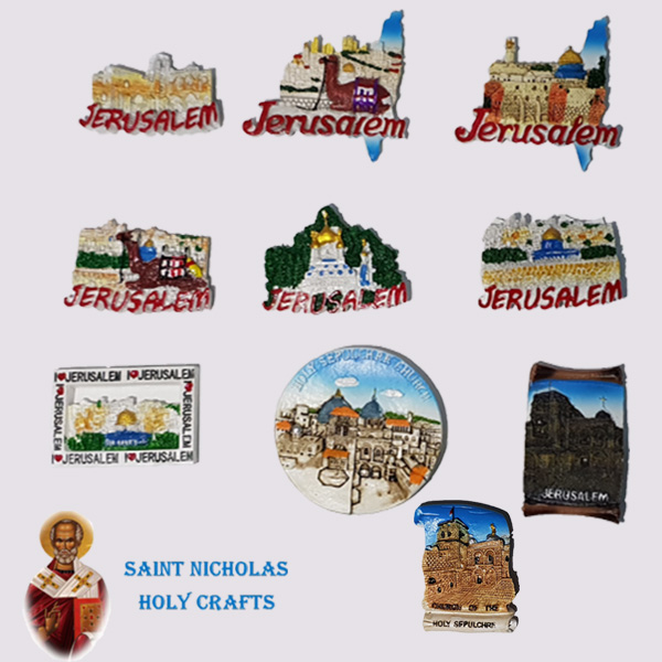 Olive-Wood-Saint-Nicholas-Holy-Crafts-Jerusalem-Ceramic-Magnet