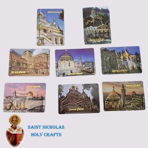 Olive-Wood-Saint-Nicholas-Holy-Crafts-Jerusalem-Leather-Magnet