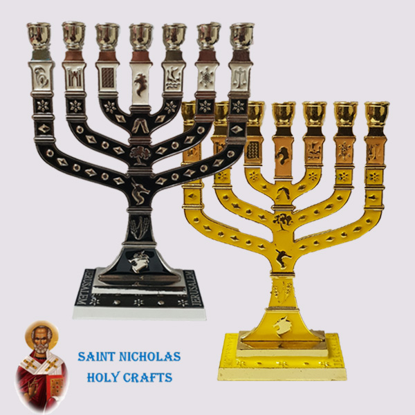 Olive-Wood-Saint-Nicholas-Holy-Crafts-Menorah