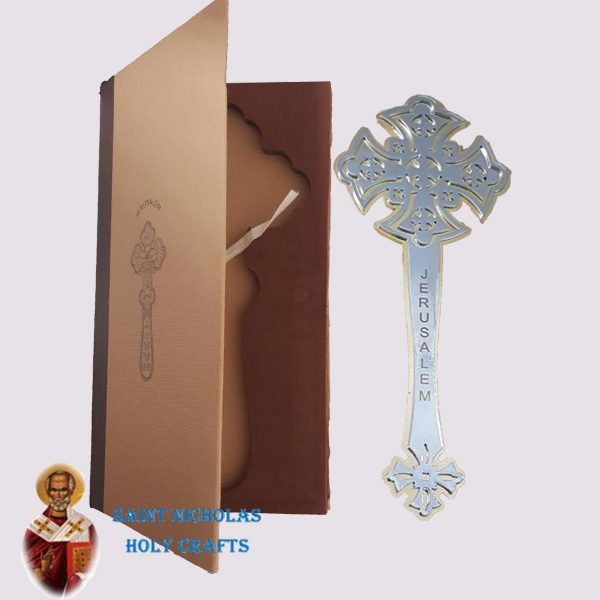 Olive-Wood-Saint-Nicholas-Holy-Crafts-Metal-Cross-With-Case