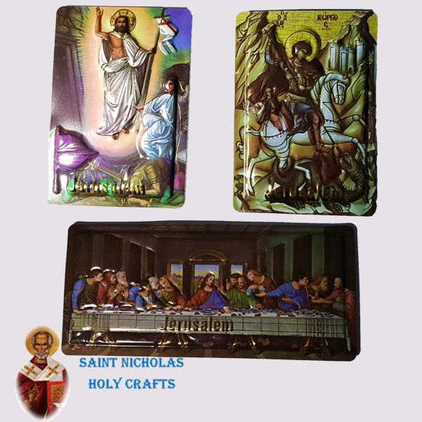 Olive-Wood-Saint-Nicholas-Holy-Crafts-Mix-Leather-Magnet