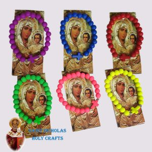 Olive-Wood-Saint-Nicholas-Holy-Crafts-Colorful-Bracelets