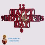Olive-Wood-Saint-Nicholas-Holy-Crafts-Olive-Mother's-Day-Wall-Clock