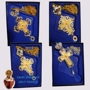 Olive-Wood-Saint-Nicholas-Holy-Crafts-Olive-Wood-Golden-Bishop-Crosses