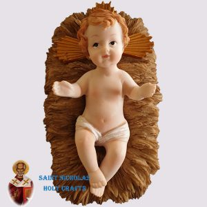 Olive-Wood-Saint-Nicholas-Holy-Crafts-Baby-Jesus-With-Manger