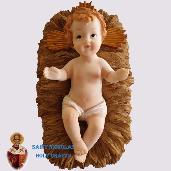 Olive-Wood-Saint-Nicholas-Holy-Crafts-Baby-Jesus-With-Manger