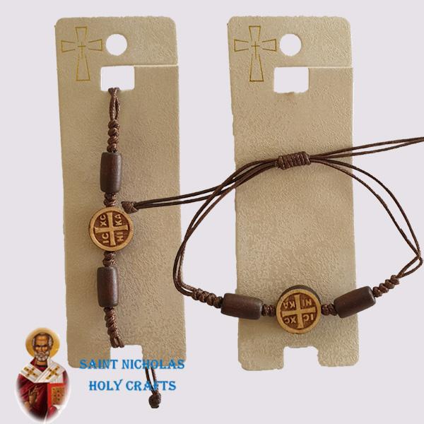 Olive-Wood-Saint-Nicholas-Holy-Crafts-Blessing-Bracelet