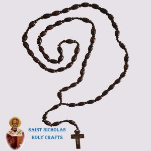 Olive-Wood-Saint-Nicholas-Holy-Crafts-Brown-Wood-Rosary