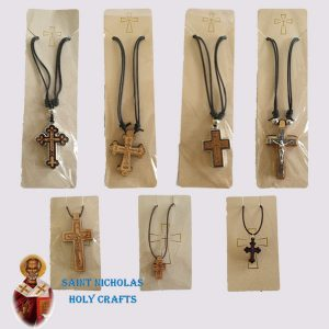 Olive-Wood-Saint-Nicholas-Holy-Crafts-Hanger-With-Wood-Pendent