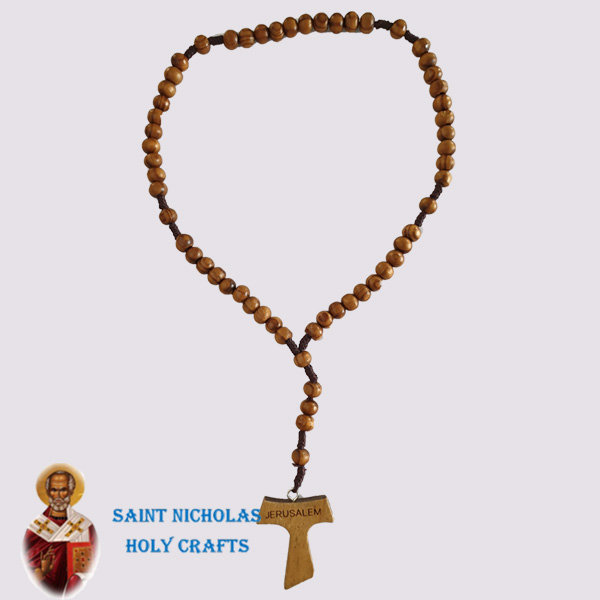 Olive-Wood-Saint-Nicholas-Holy-Crafts-Wood-Rosary-With-T-Cross